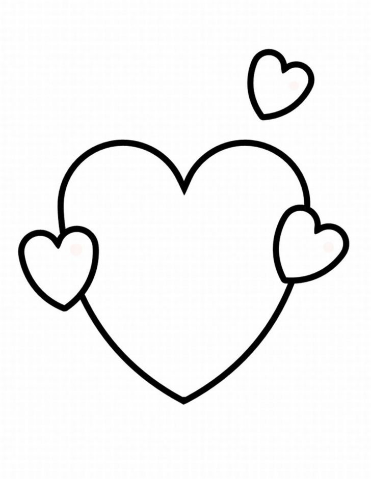 Free Printables Of Hearts