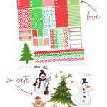 Free Holiday Planner Stickers Printable   Roxy James   Free Printable Holiday Stickers