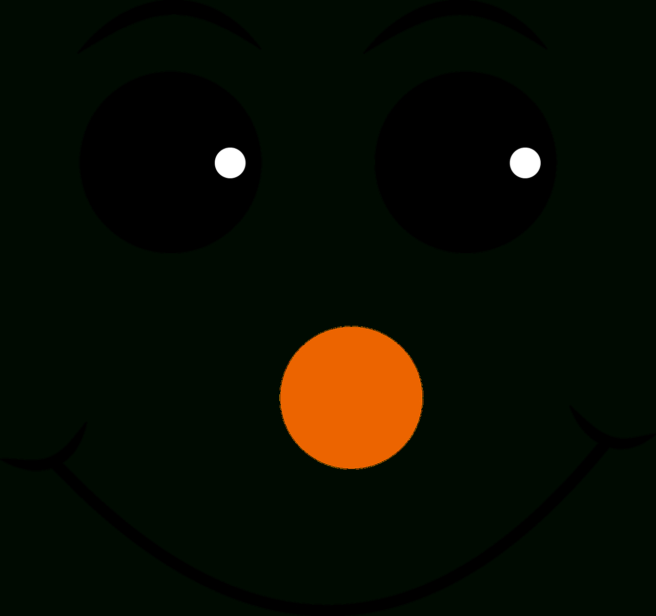 Free Image On Pixabay - Red Nosed, Smiley, Face, Emoji | More Crafts - Free Printable Snowman Face Stencils