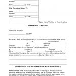 Free Indiana Quit Claim Deed Form   Word | Pdf | Eforms – Free   Free Printable Quit Claim Deed Form Indiana