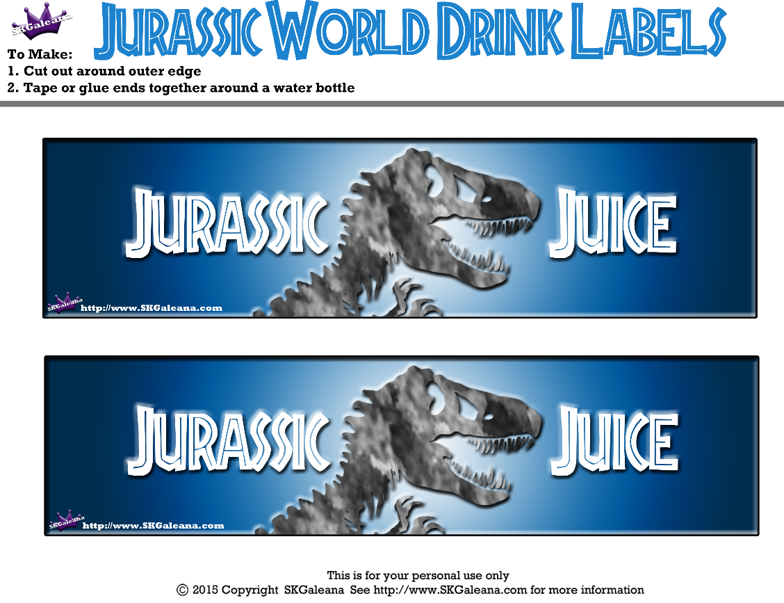 Free Jurassic World Printables, Activities And Crafts!   Jurassic - Jurassic World Free Printables