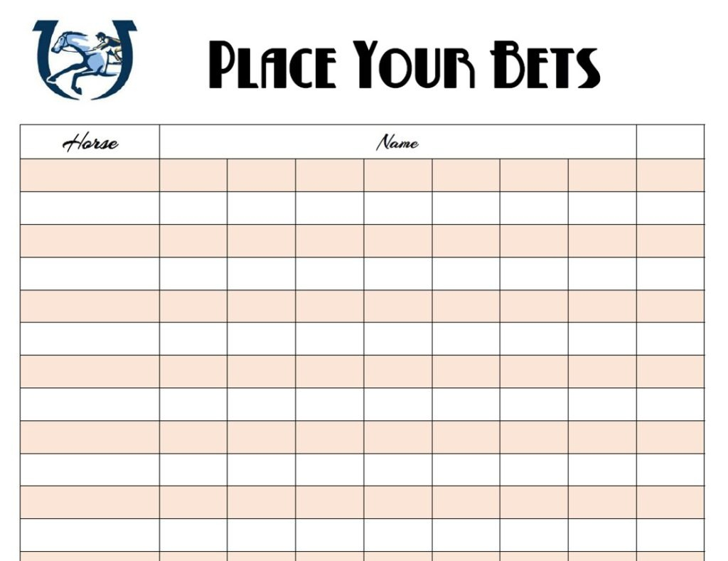 Free Kentucky Derby Printables | The Well Dressed Table - Free Kentucky Derby Printables