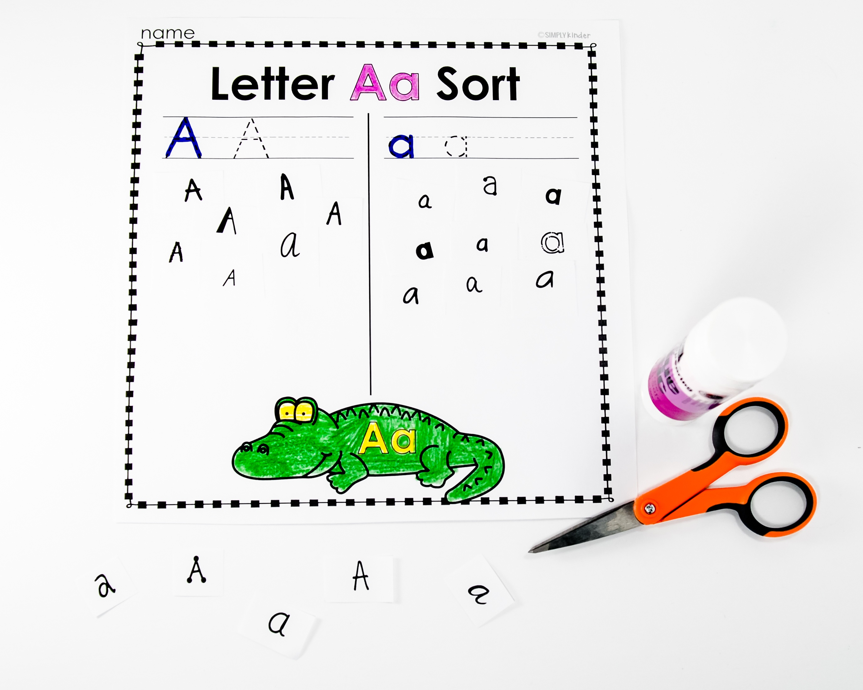 Free Kindergarten Activities And Worksheets - Simply Kinder - Free Printables For Kindergarten