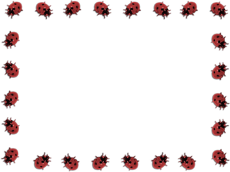 Free Ladybug Cliparts Borders, Download Free Clip Art, Free Clip Art - Free Printable Ladybug Stationery