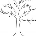 Free Leafless Tree Outline Printable, Download Free Clip Art, Free   Free Printable Tree Template