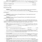 Free Lease Agreement Michigan Choice Image   Agreement Sample   Free Printable Michigan Residential Lease Agreement
