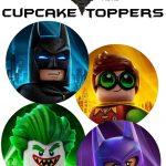 Free Lego Batman Cupcake Toppers | Daniel Bday Theme Ideas | Lego   Free Printable Lego Batman