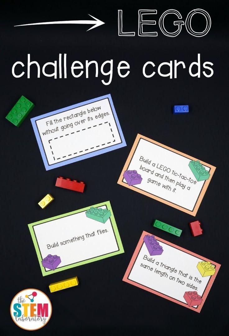 Free Lego Challenge Printable Stem Activities   Learning & Education - Free Printable Stem Activities