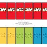 Free Lego Mini Candy Bar Wrapper Printable … | Lego Party In 2019…   Free Printable Mini Candy Wrapper Template