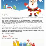 Free Letters From Santa | Santa Letters To Print At Home   Gifts   Free Printable Letter From Santa Template