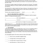 Free Living Will Forms (Advance Directive) | Medical Poa   Pdf   Free Printable Living Will Forms Washington State