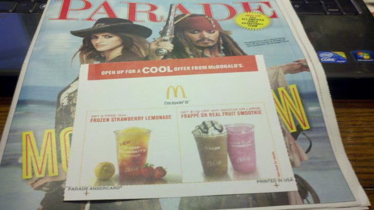 Free Mcdonalds Smoothie Printable Coupon