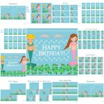 Free Mermaid Birthday Party Printables From Printabelle | Catch My Party   Free Mermaid Party Printables