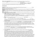 Free Michigan Month To Month Rental Agreement Template   Pdf | Word   Free Printable Michigan Residential Lease Agreement