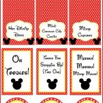 Free Mickey Mouse Party Printables. | Party Ideas   Mickey | Mickey   Free Mickey Mouse Printables