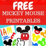 Free Mickey Mouse Printables And Party Ideas. Diy Decorations For   Free Mickey Mouse Printables