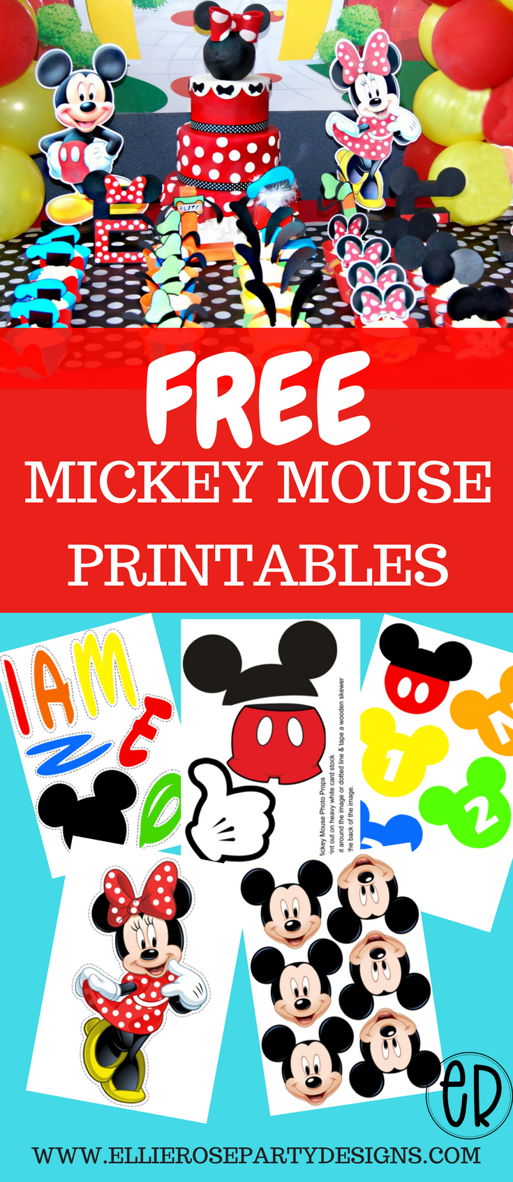 Free Mickey Mouse Printables And Party Ideas. Diy Decorations For - Free Mickey Mouse Printables