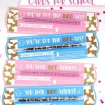 Free Milk Straw Printable Valentine Cards For School | Best Of Press   Free Printable School Valentines Cards