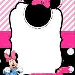 Free Minnie Mouse 1St Birthday Invitation | Free Printable   Free Minnie Mouse Printable Templates