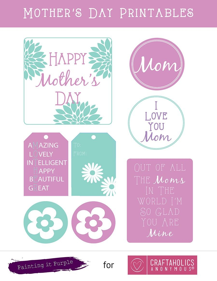 Free Mother's Day Printables | All Time Favorite Printables - Free Mother's Day Printables