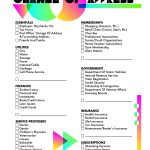Free Moving Checklist Printable | This Change Of Address Template   Free Printable Change Of Address Cards