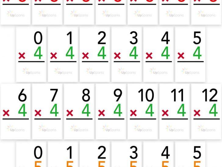 Free Printable Multiplication Flash Cards Pdf