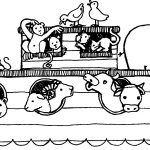 Free Noah's Ark Coloring Pages | Posts Related To Noah Ark Coloring   Free Noah's Ark Printables