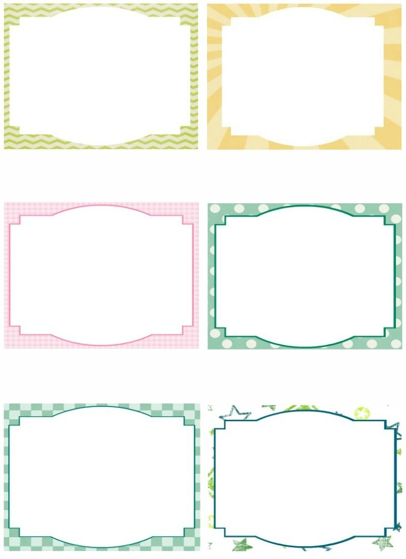 Free Note Card Template. Image Free Printable Blank Flash Card - Free Printable Note Cards Template