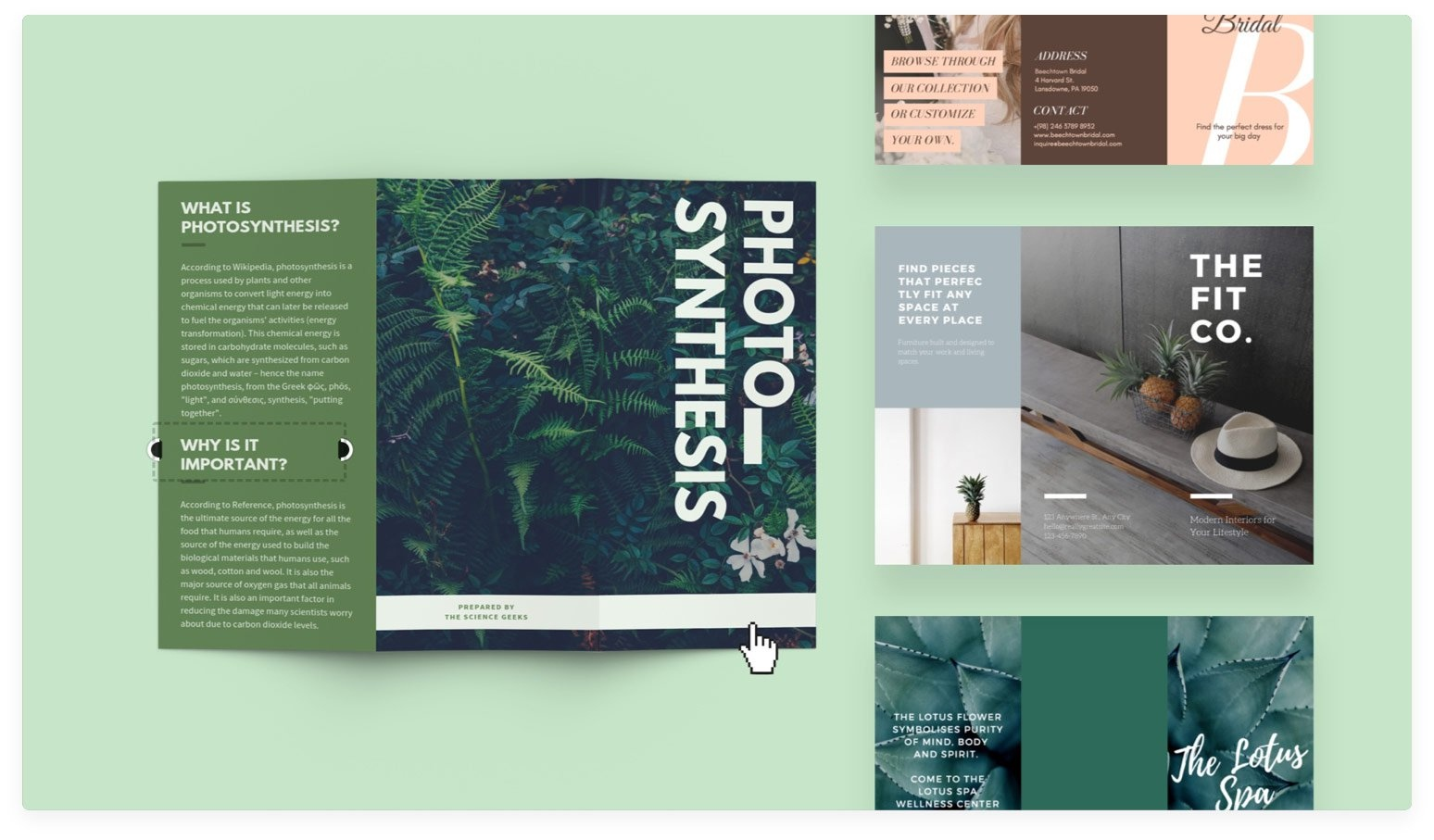 Free Online Brochure Maker: Design A Custom Brochure In Canva - Free Printable Brochure Maker Download