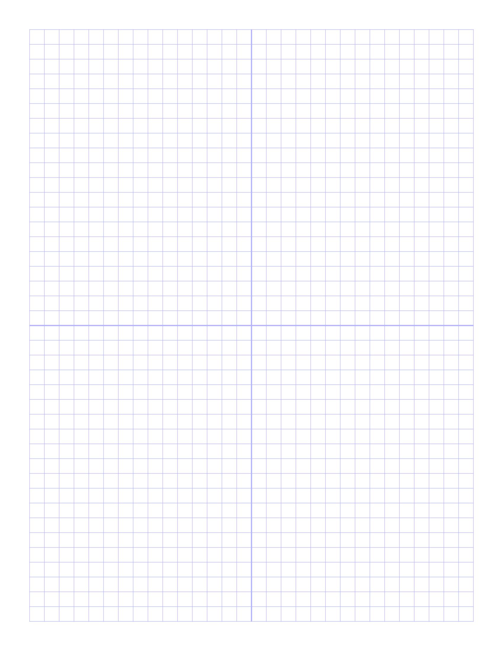 Free Online Graph Paper / Plain - Free Printable Graph Paper