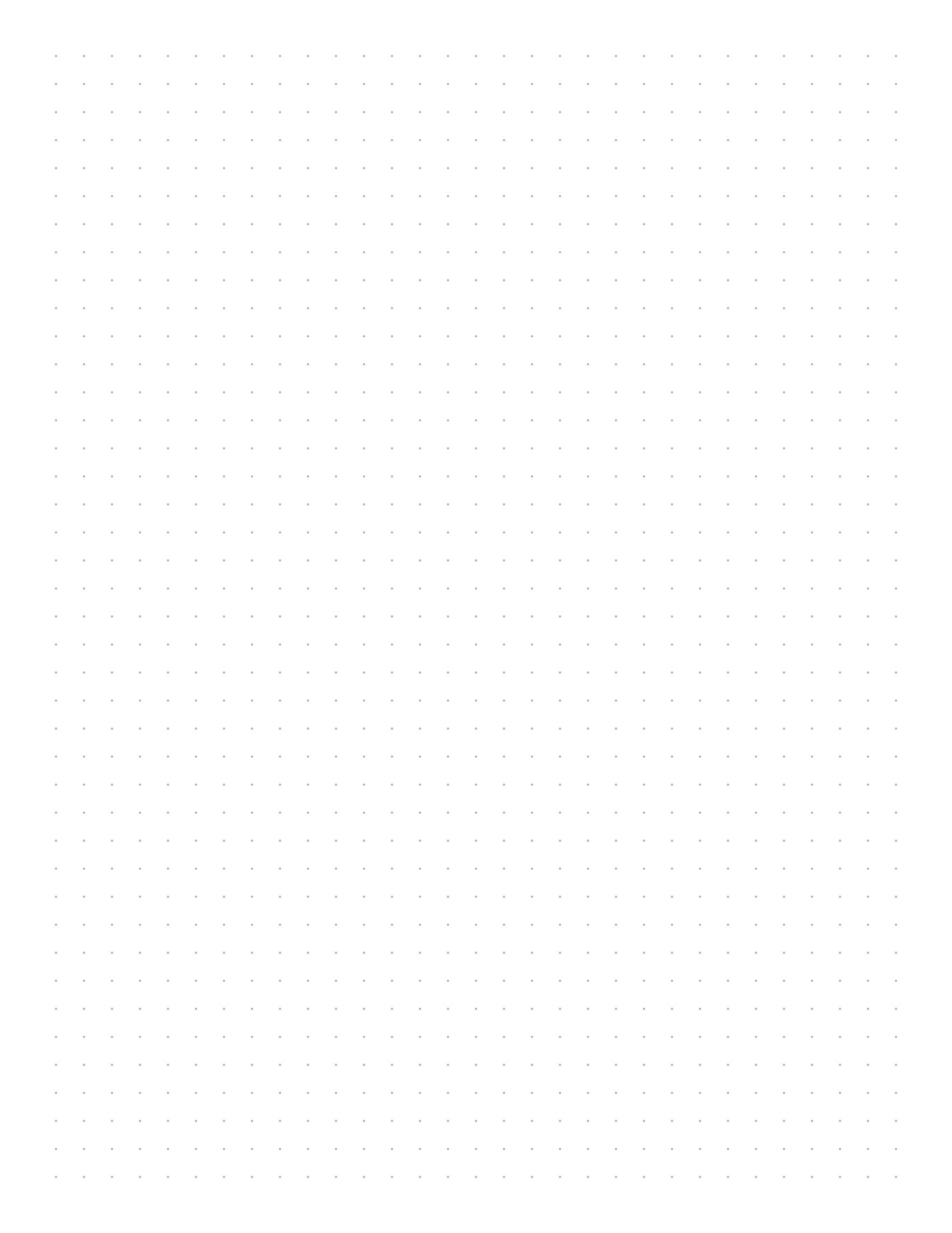 Free Online Graph Paper / Square Dots - Free Printable Square Dot Paper