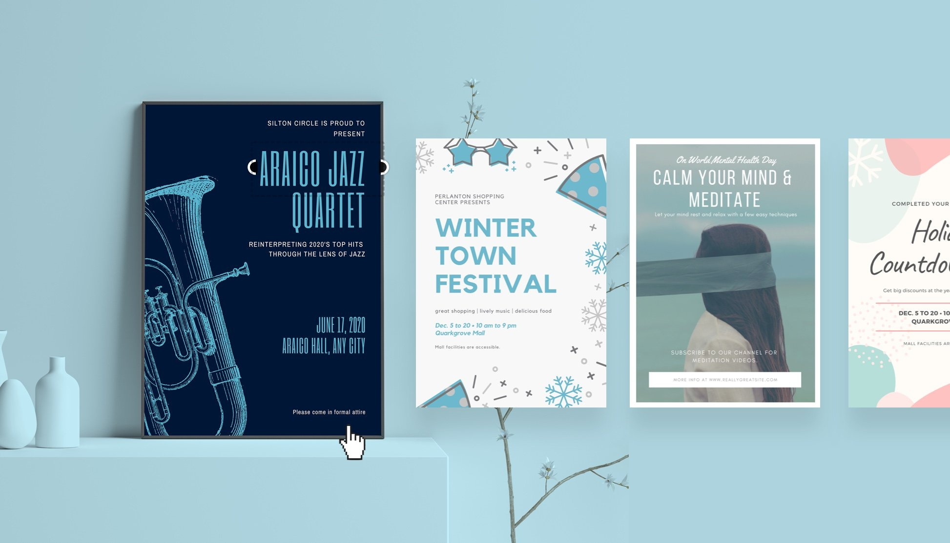 Free Online Poster Maker: Design Custom Posters With Canva - Free Sign Maker Printable