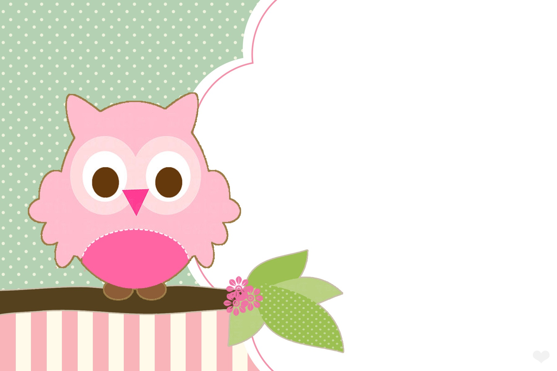Free Owl Party Printables Set For Girls - One Charming Day - Free Owl Printables