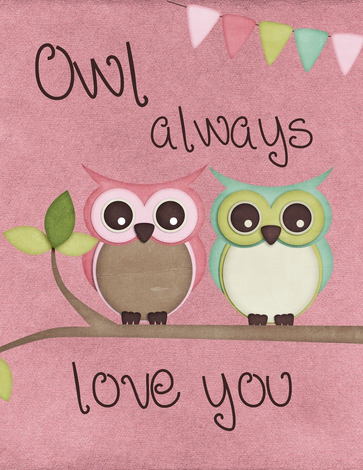 Free Owl Printables- It Would Be A Cute Idea To Put In A Frame And - Free Owl Printables