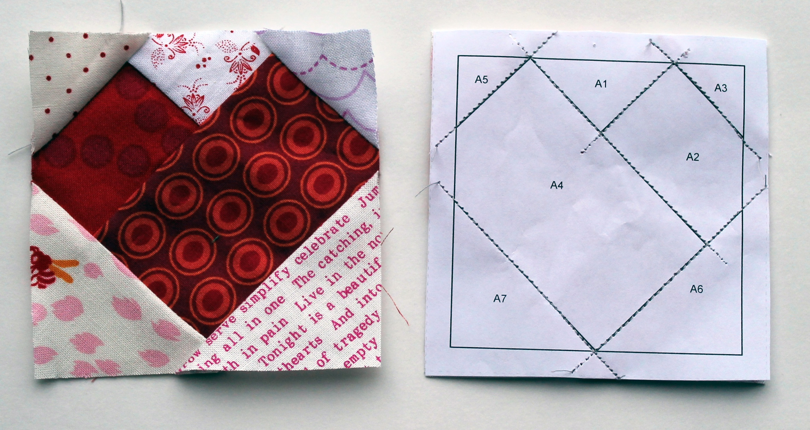 """Free Paper Piecing Pattern"""" 