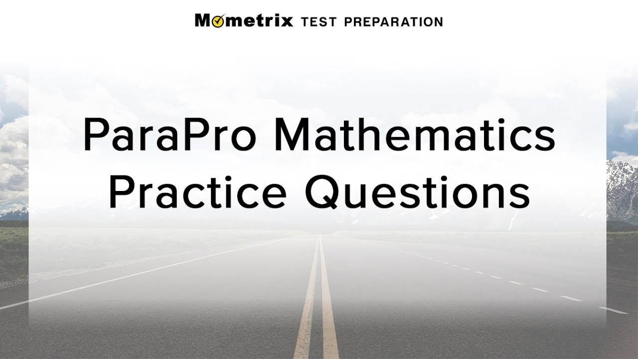 Free Parapro Math Practice Test - Youtube - Free Printable Praxis Math Practice Test
