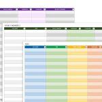 Free Password Templates And Spreadsheets | Smartsheet   Free Printable Password Sheet