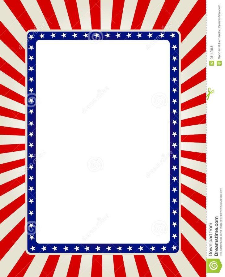 Free Printable Patriotic Writing Paper