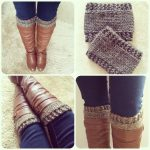 Free Pattern: Knitted Boot Cuffs//revised Version | Knitting   Free Printable Crochet Patterns For Boot Cuffs