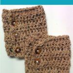 Free Patterns: Crochet Boot Cuffs (2 Versions) | Crochet Ideas And   Free Printable Crochet Patterns For Boot Cuffs