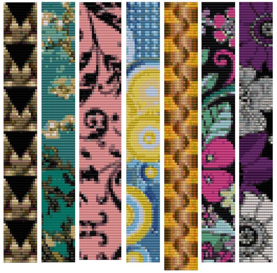 Free Patterns, Jayceepatterns   Beads   Bead Loom Patterns, Loom - Free Printable Loom Bracelet Patterns