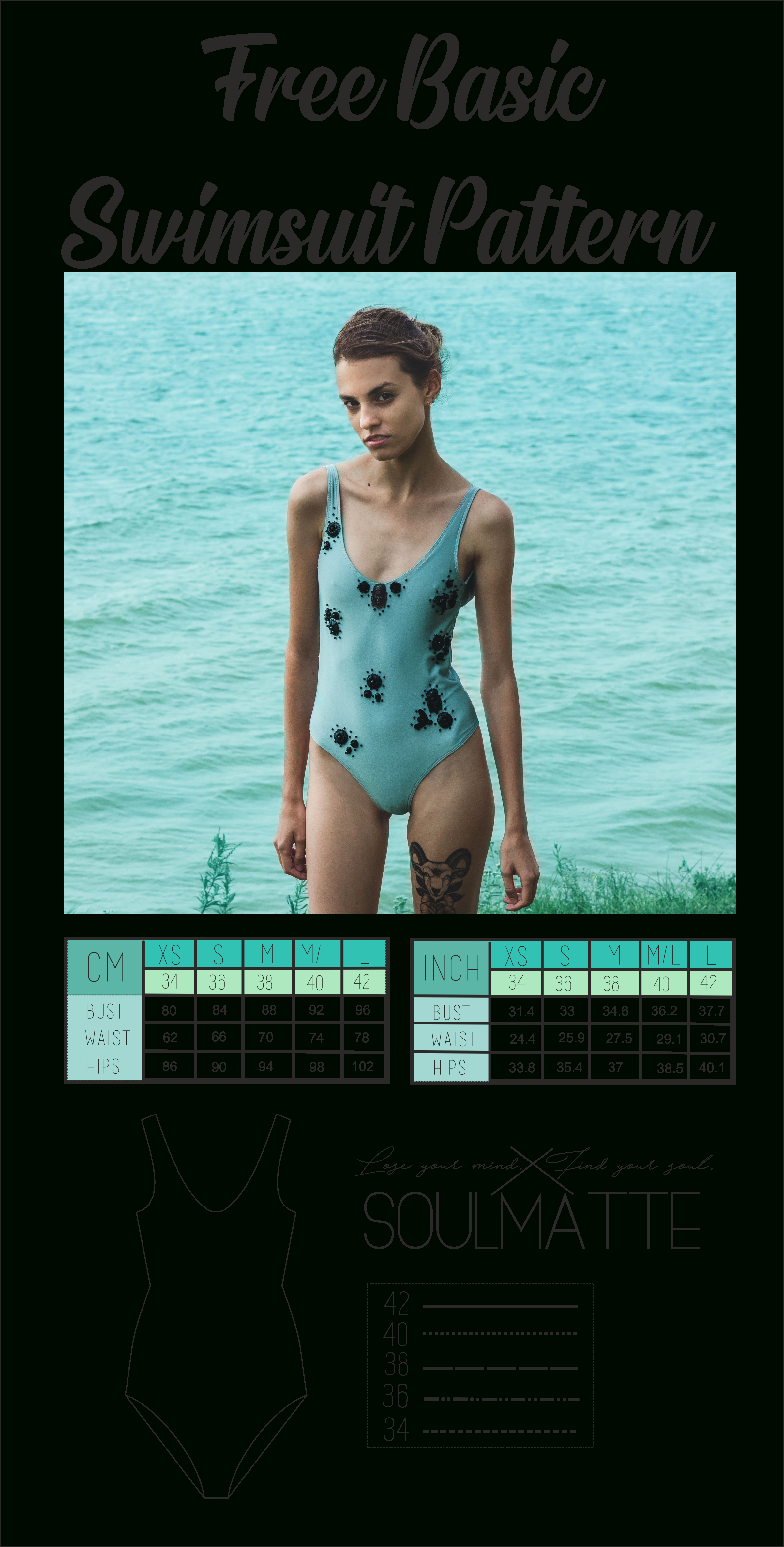 Free Pdf Download Printable Basic Swimsuit - Leotard Pattern For The - Free Printable Leotard Pattern