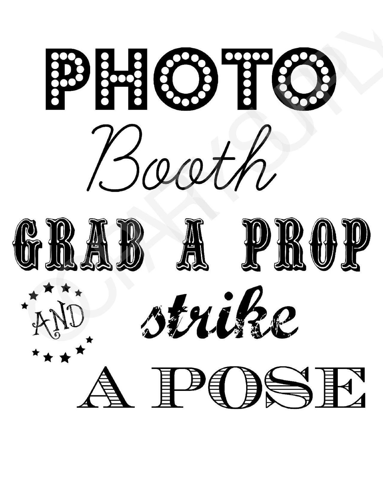 Free Photo Booth Sign (Printable)   Party Planning   Fiesta En La - Selfie Station Free Printable