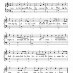 Free Piano Arrangement Sheet Music – Christ Arose (Up From The Grave   Free Printable Gospel Sheet Music For Piano