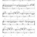 Free Piano Sheet Music: Can't Stop The Feeling!   Justin Timberlake   Free Printable Music Sheets Pdf