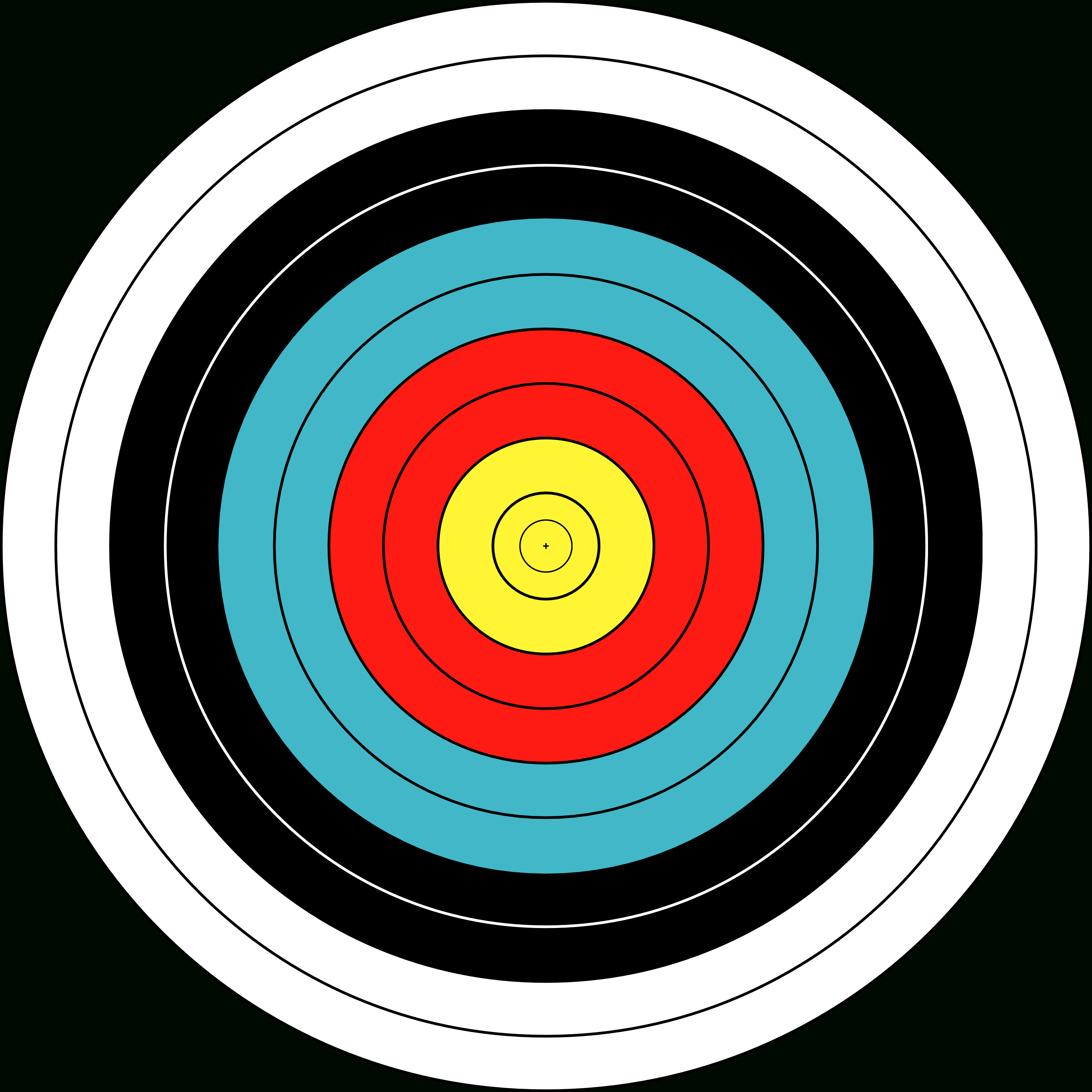 Free Picture Of Bullseye, Download Free Clip Art, Free Clip Art On - Free Printable Bullseye