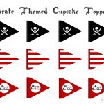 Free Pirate Cupcake Printable Toppers ~ Frugalful | Diy Pirates   Free Printable Pirate Cupcake Toppers