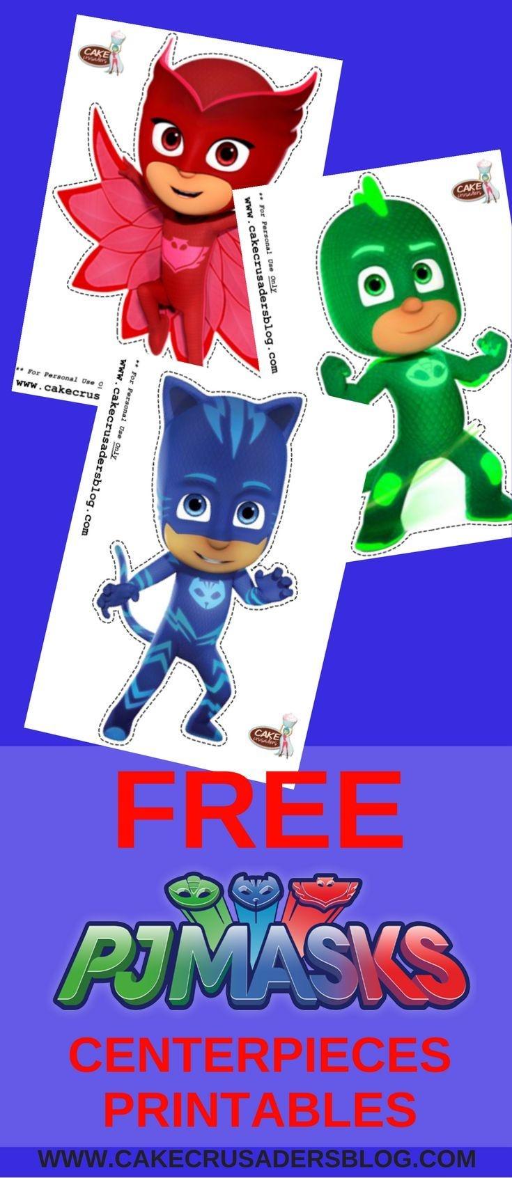 Free Pj Mask Diy Party Printables | Printables! In 2019 | Pj Mask - Pj Mask Free Printables