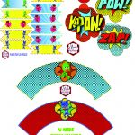 Free Pj Masks Party Printables Round 2 | Baby Boy 3Rd Bday | Mask   Free Superhero Party Printables