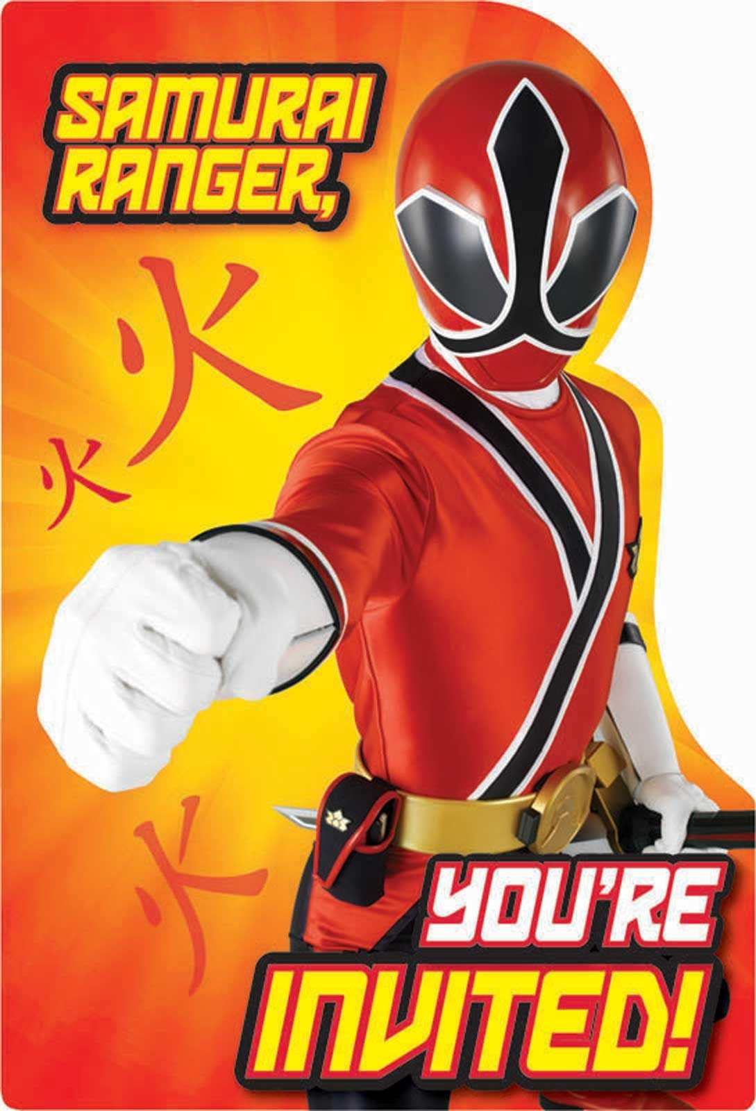 Free Power Ranger Birthday Invitations | Bagvania Invitation In 2019 - Free Power Ranger Printables